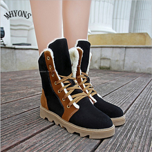 Free Shipping New 2016 fashion women's boots women's boots and autumn and winter boots with cold insulation breathable MHYONS