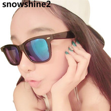 snowshine2 #3001 Retro Aviator Sunglasses Eyewear Mirrored Lens Mirror Women Men glasses free shipping