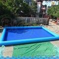 Impressão do logotipo inflatable biggors inflável piscina praça piscina inflável para a venda