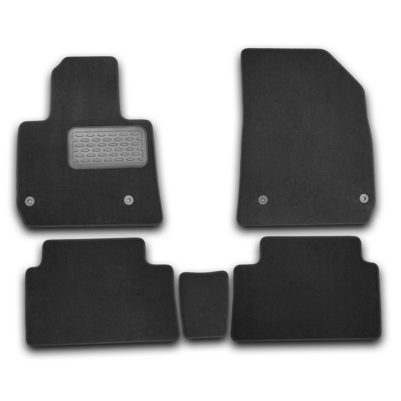 Mats in the salon For CITROEN C5 2008->, сед., Oon... 5 PCs (textile) banglong c5 page 5