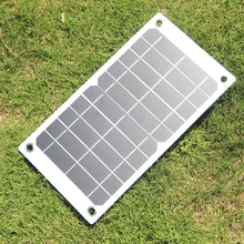 BUHESHUI 7 5W 5V Portable Solar Panel Charger With High Efficiency Sunpower Solar Cell For