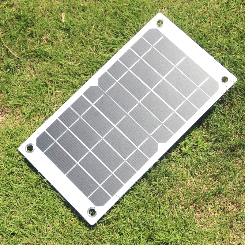 BUHESHUI 7 5W 5V Portable Solar Panel Charger With High Efficiency Sunpower Solar Cell For MP