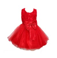 2 3 4 5 6 7 Years Baby Girl Tutu Dresses Solid Sleeveless Kids Costumes Brand