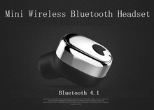 Mini Bluetooth Earphone Wireless In-ear Handsfree Business Calls Stereo Music Earbuds with Mic