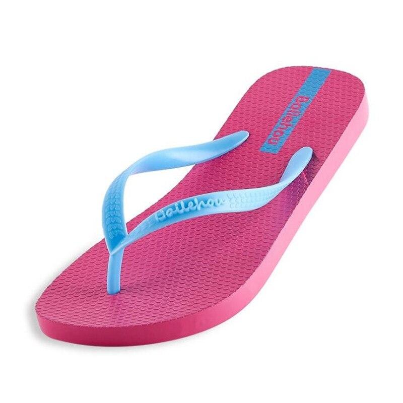 ed15461bb05 New Women Shoes Slippers Fashion Designer Beach Flip Flops Ladies Summer  Flat Heel Thong Sandals-in Flip Flops from Shoes on Aliexpress.com