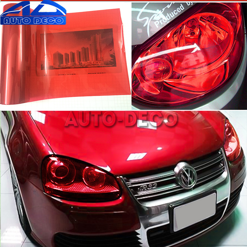 Image 5 - 13 Colors Car Headlight Taillight Fog Light Film Gloss Car Light wrap Headlight Film Sheet  30*200cm-in Car Stickers from Automobiles & Motorcycles