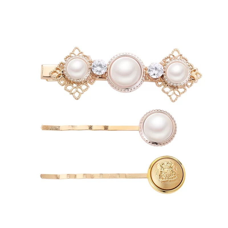 2019 Newest 3Pcs Set Pearl Hair Clips Swallow Women Hairpins Barrette Bobby Pins Hairgrip For Girls Hair Accessories in Women 39 s Hair Accessories from Apparel Accessories