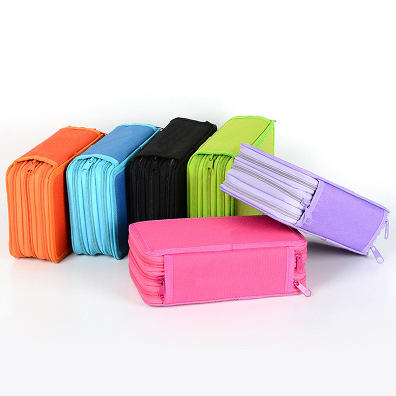 3th 4th Floor Pencil Case Colorful Kawaii Estuche Escolar Pencilcase Trousse Scolaire Stylo Pen Bag Pencil Box School Stationery цена 2017