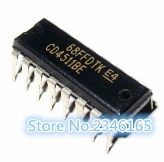 10 sztuk CD4511BE DIP16 CD4511 DIP 4511BE DIP-16 nowy i oryginalny IC tanie i dobre opinie Ogólnego przeznaczenia High power Przekaźnik czasowy Uszczelnione 250 V