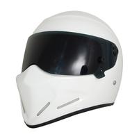 Men Women Genunie Road Racing Helmet Retro Motorcycle Helmet Casque Moto DOT Certification Motorbike Flip Up