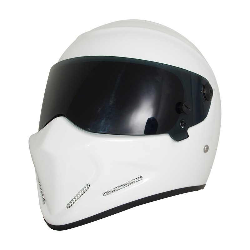 Men Women Genunie Road Racing Helmet retro motorcycle Helmet casque moto DOT Certification Motorbike Flip up helmet Visor