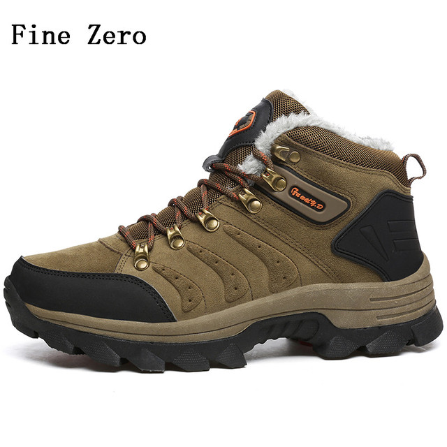 Men Comfort Lace up Hiking Boot