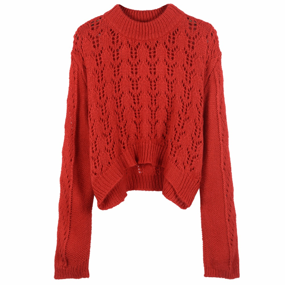 sweater and pullover jumper oversize white red sweater for women autumn  winter 2017 runway sweater knitted knitwear high quality 546584d75