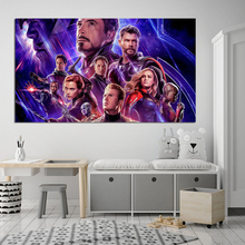 Marvel Superhero Avengers Endgame Canvas Prints Picture Modular Paintings for Living Room Poster on The Wall Home Decoration