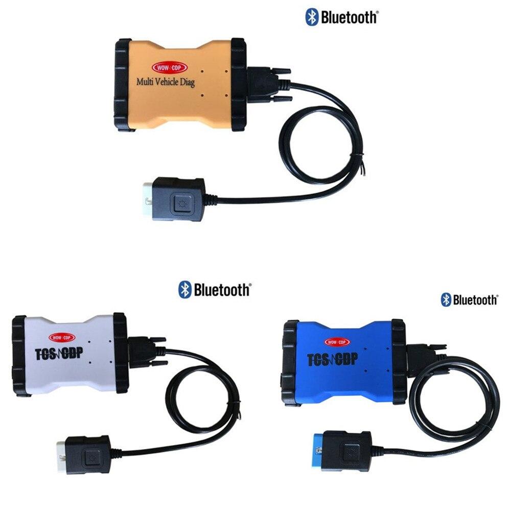 Prix pour 5 PCS/LOT dhl multi couleur peut choisir NEC relais 2015.1 R1 version VD TCS CDP PRO PLUS nouveau vci avec BLUETOOTH VD600 MVD
