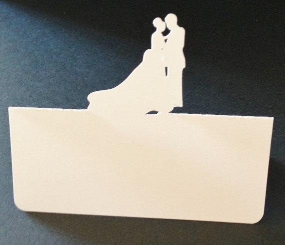 elegante abrazando parejas tarjetas del lugar da de fiesta boda cena tarjeta