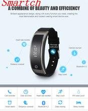 Smartch умный Браслет I8 Talk Band сердечного ритма Мониторы Приборы для измерения артериального давления часы с Шагомер сна Фитнес трекер Спорт браслет
