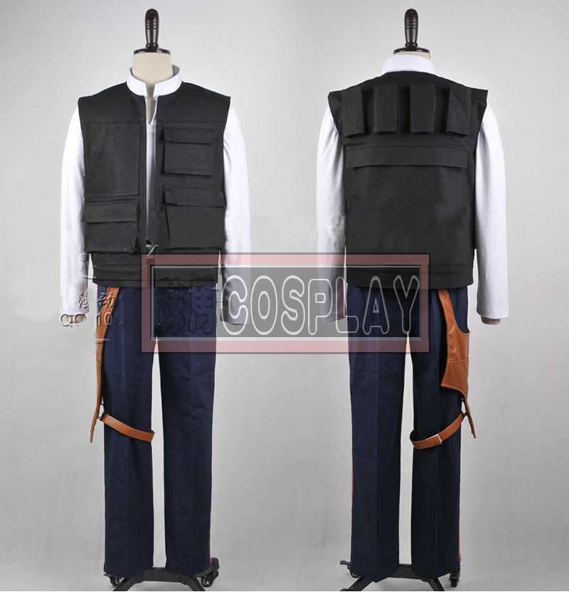 Star Wars Han Solo cosplay Costume Any Size Z1001