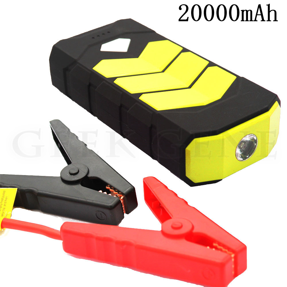 Multi-Function 12V Petrol Diesel Car Jump Starter 20000mAh Starting Device Power Bank 400A Car Charger For Car Battery Booster 12v 20000mah multi function car jump starter power bank emergency charger booster battery