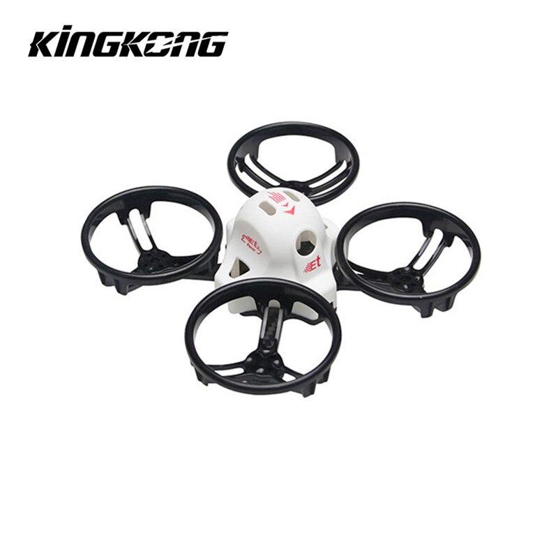 Kingkong ET Serie ET100-LOCATOR 100mm Micro FPV Racing Drone Wahre X rahmen Kit für RC Modelle ESC Zubehör Accs für Quadcopter Teile