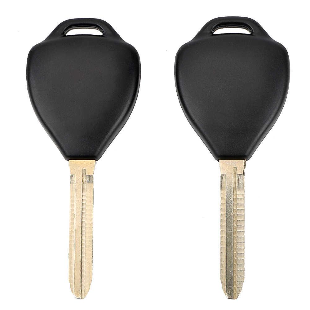 Voiture-style 2 bouton 3 bouton boîtier porte-clé clé de voiture Shell lame non coupée à distance pour Toyota Camry Corolla RAV4 REIZ Alphard Toy43