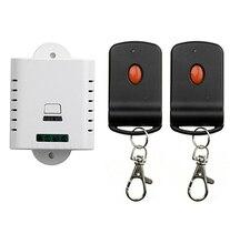 85V 110V 120V 220V 250V 1CH RF Wi-fi Distant Management Change System 2 transmitter & 1 receiver relay Receiver Sensible House Change