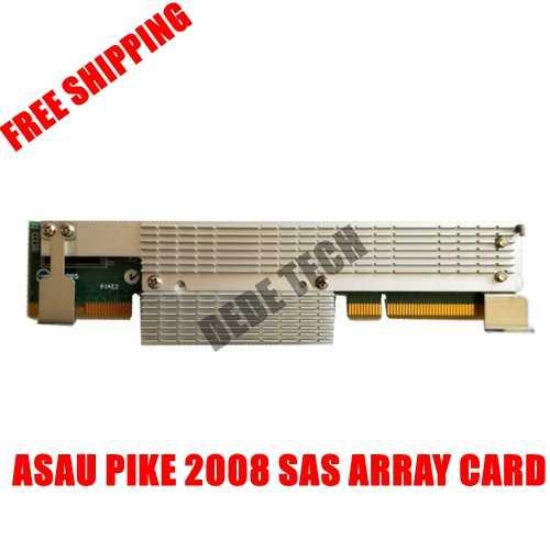 FOR ASUS PIKE 2008 LSI 8-Port SAS II SATA 6.0 Gbps RAID Card  SAS Array Card Supports SAS SATA Motherboard card 100% TESED OK