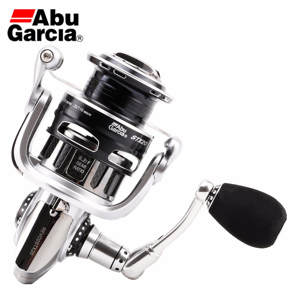 2018 Abu Garcia Revo STX 1000 2000 3000 4000 Spinning Fishing Reel 9+1BB carbon rotor Saltwater Lure Fish Reel Hunt House abu garcia revo deez 9 1bb 6 2 1 1000 spinning reel jb top50 professional angler special design freshwater fishing reel tackle