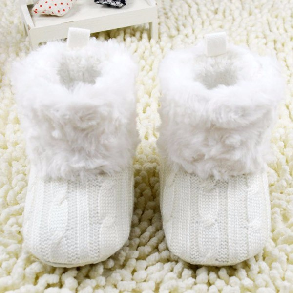 Warm Winter Baby First Walkers