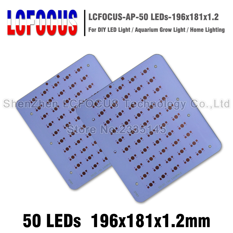 1W 3W 5W Aluminum Plate 196*181*1.2mm High Power PCB Heat Sink Plate Board DIY 50W 100W 150W LED Bulb For 1 3 5 Watt Light Beads 10pcs led aluminum plate 40mm for 5w 5730 smd heat sink