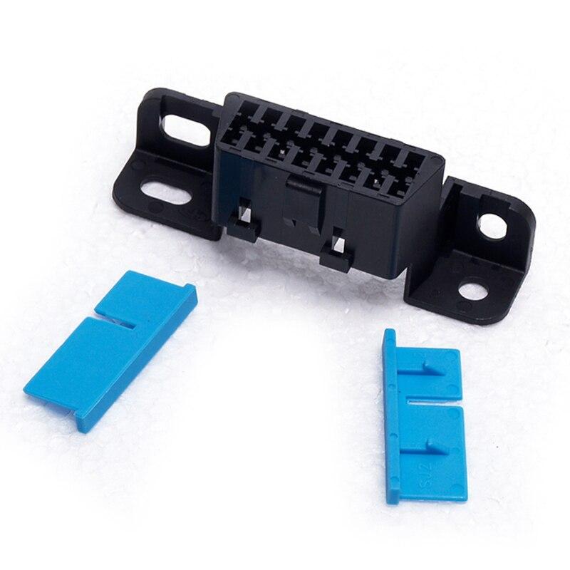 16 pin Женский угловой разъем 16 pin Obd2 разъем Obd 2 гнездо для провода