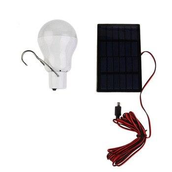 150Lumen 15W 6V Solar Power LED Bulb Lamp Solar panel Applicable Outdoor Lighting Camp Tent Fishing Lamp,Garden Light Portable