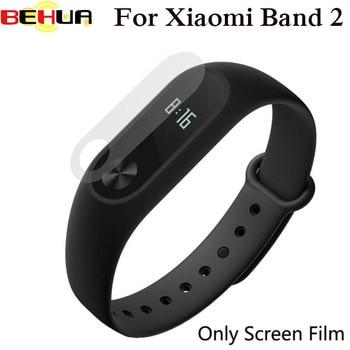 100pcs/lot Ultra-Thin HD Screen Protector Film Protective for Xiaomi Xiao Mi band 2 Wrist Watch Band Miband 2 Glass II Band2