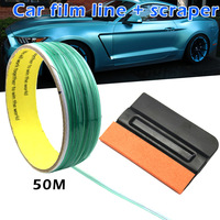 50M Safe Finish Car Line Knifeless Tape with Squeegee for Vinyl Wrapping Film Cutting M8617