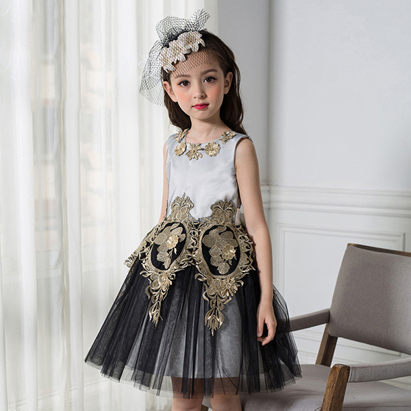 2018 Real Vestido Kids Dress Birthday Party Tutu Dresses For Girls Years Teenager Prom Toddler Princess High Quality Wedding 2016 tulle tutu lace girls dresses princess costume kids clothes teenager girl dress 6 15 years birthday roupas infantis menina