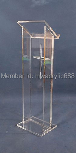 Free Shipping Hot Sell Deluxe Cheap Clear Acrylic Lectern,acrylic Podium