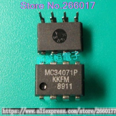 1PCS MC34071 MC34071P DIP8 new and original In Stock original 1pcs s228 s221 goods in stock