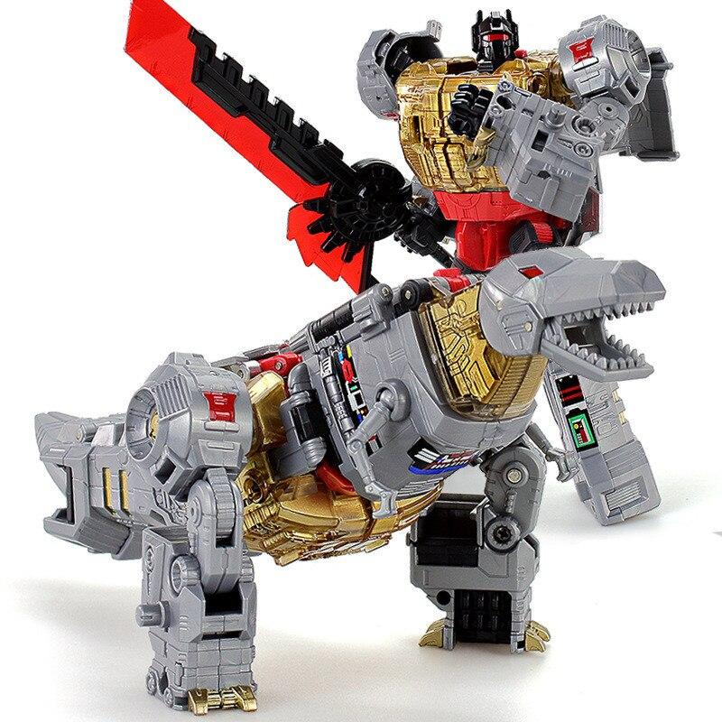Cool get treasure Deformation toys PC-17 white locomotive optimus OP car robot