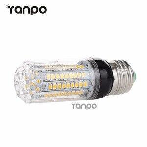 Image 2 - E26 E12 E27 E14 LED żarówka kukurydza 5W 6W 9W 12W 15W 2835 światło smd lampy AC 110V 220V Super jasne oświetlenia sportowego dla domowe lampki dekoracyjne