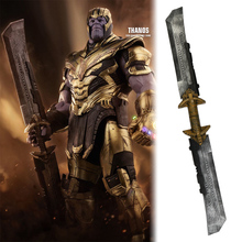 Avengers: Endgame Thanos Double Edged Sword Weapon Detachable Cosplay Costume Armor Halloween Party Prop