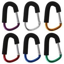 Вешалка для детской коляски из алюминиевого сплава, крючок для сумки, подвесной, для улицы, для детской тележки, для покупок, для рук, крючки, высокая интенсивность, мощный