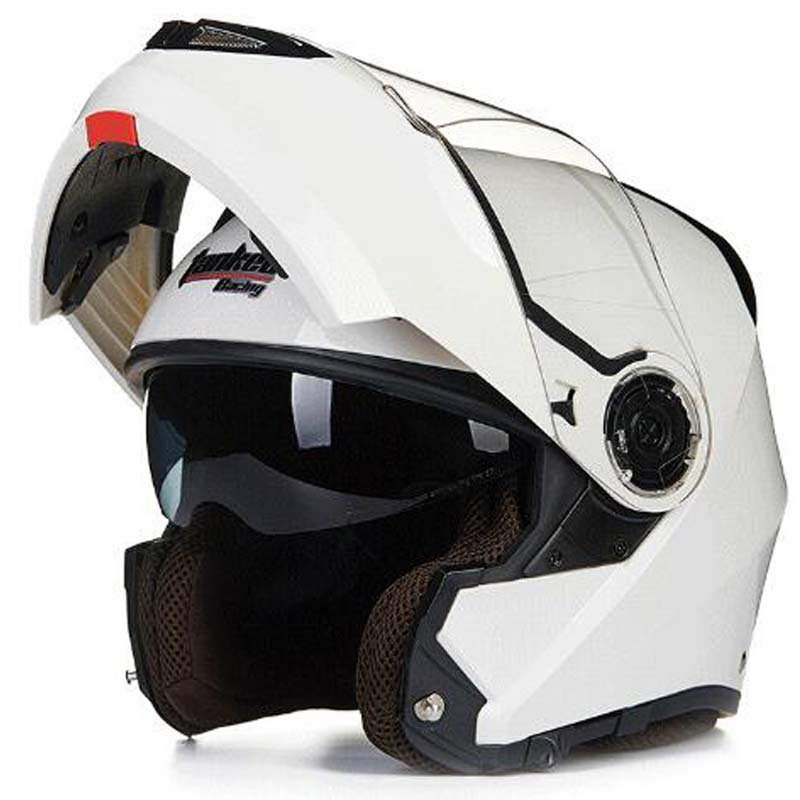 design ghost Tanked Racing motorcycle Helmet flip up MOTO open face dirt biker motorbike motocross off road safety helmets diysecur 4pin dc12v 24v 7 inch 4 split quad lcd screen display rear view video security monitor for car truck bus cctv camera