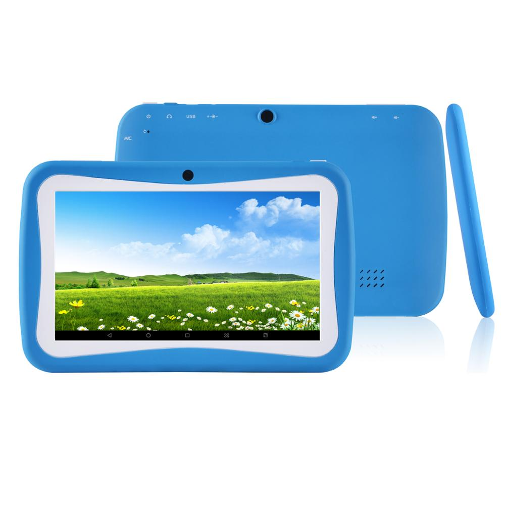 7 pouces 1024*600 tablette PC Android 7.0 2 GB RAM 16 GB ROM WiFi Bluetooth tablettes double caméra
