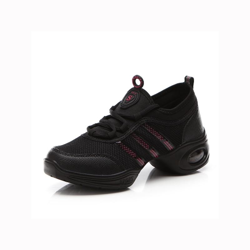 sports shoes 181c1 4a08a US $18.45 32% di SCONTO|Scarpe da ballo Donna Jazz Hip Hop Scarpe da ballo  Salsa Scarpe Da Tennis per la Donna taglia 41 Grande Formato Lungometraggi  ...