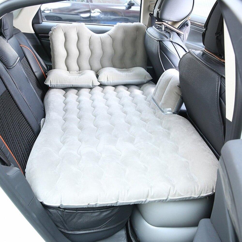 Inflatable Seat Sofa: Car Air Mattress Travel Bed Inflatable Mattress Air Bed