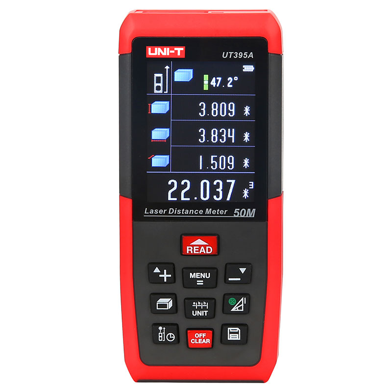 UT395A UT395B UT395C Laser Rangefinder 50m 70m 100m Laser Distance Meter Range Finder 2MP Lens USB Data Export PC Software unit ut395a ut395b ut395c laser distance meters 50m 70m 100m rangefinder best accuracy software data calculate continuous measur