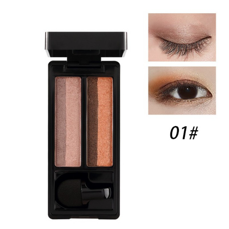 UBUB DOUBLE COLOR EYESHADOW PALETTE (7)