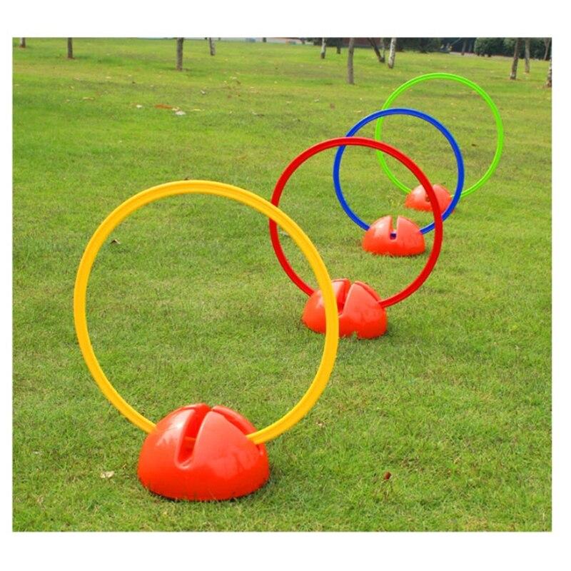 Футбол Training Марк кольцо с водной основе скорость Футбол круг знаков скачка петли конусов игроков Бег блокады