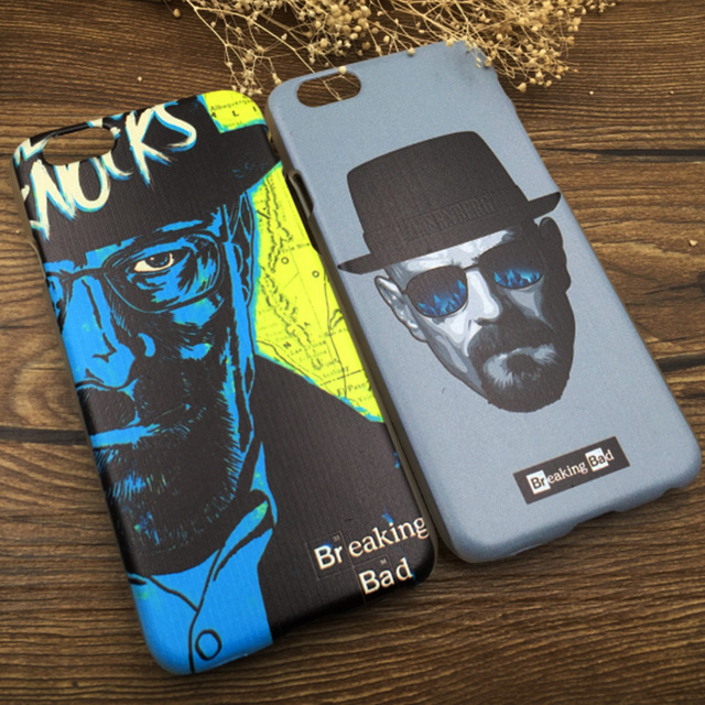 BREAKING BAD Heisenberg 2016 New Design Painted Phone Case for iPhone5 5S 6 6s 7 Plus