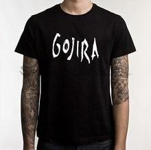 8a3a03b3 mens tee-shirt Gojira T-shirt Men's Metal Music Cotton Black Tee Shirt